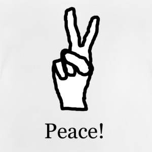 Peace! - Baby-T-shirt