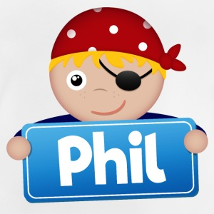 Little Pirate Phil - Baby-T-shirt
