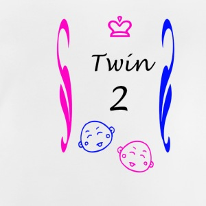 Twins Boy and Girl - Baby T-Shirt