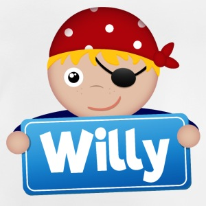 Little Pirate Willy - Baby T-Shirt