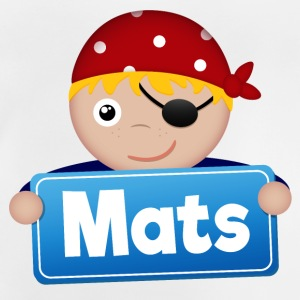 Little Pirate Mats - Baby T-Shirt