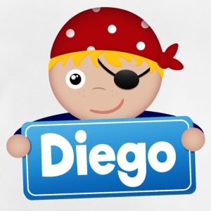 Little Pirate Diego - Baby-T-shirt