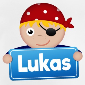 Little Pirate Lukas - Baby-T-shirt