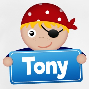 Little Pirate Tony - Baby T-Shirt