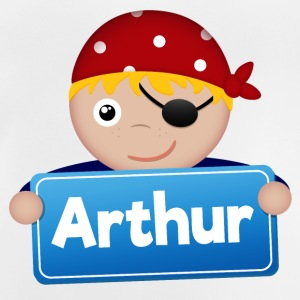 Little pirate Arthur - Baby T-Shirt