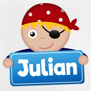Lite Pirate Julian - Baby-T-skjorte