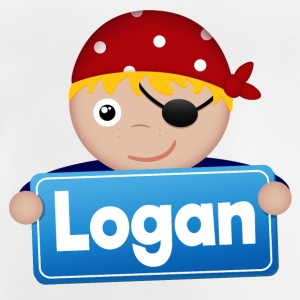 Little Pirate Logan - Baby T-Shirt