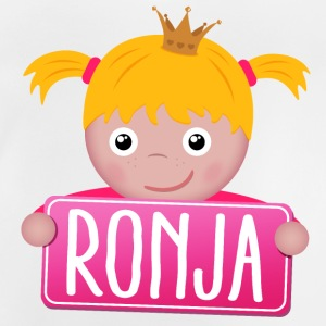 Little princess Ronja - Baby T-Shirt