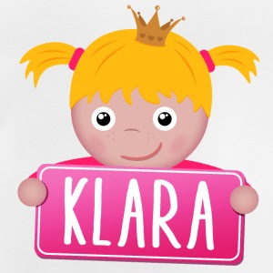 Little Princess Klara - Baby-T-shirt