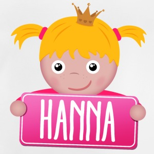 Little Princess Hanna - Baby-T-shirt