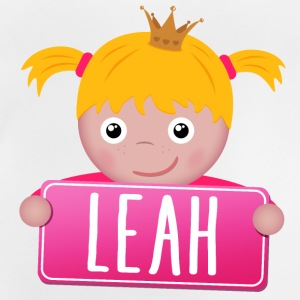 Little Princess Leah - Baby-T-shirt