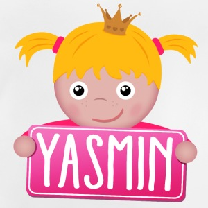 Little Princess Yasmin - Baby-T-shirt