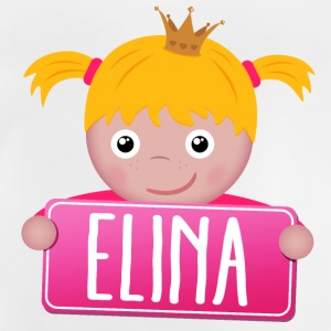 Little princess Elina - Baby T-Shirt