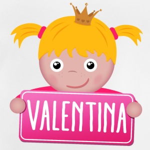 Little princess Valentina - Baby T-Shirt