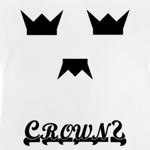 Crown New INFO - Baby-T-skjorte