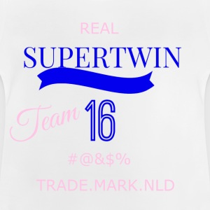 super Twin transparent - Baby T-Shirt