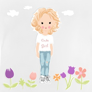 Cute Girl - Baby T-Shirt