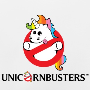 Unicorn Busters (Logo + Text) - Baby T-Shirt