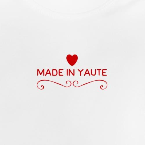 Made in Yaute Coeur - T-shirt Bébé