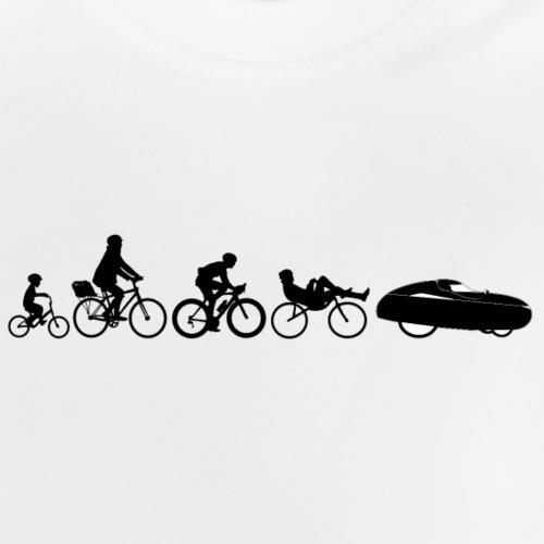 Bicycle evolution black - Vauvan t-paita