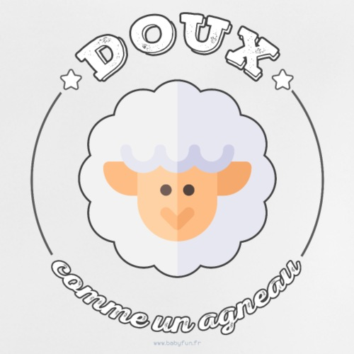 Doux comme un agneau - T-shirt Bébé
