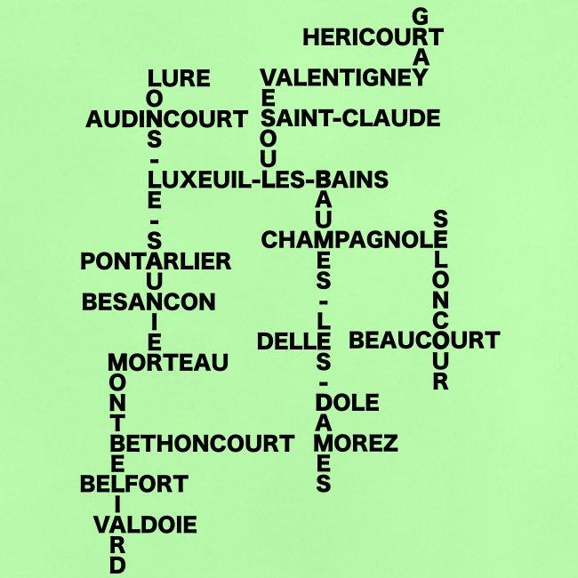 Franche-Comté mots croisés