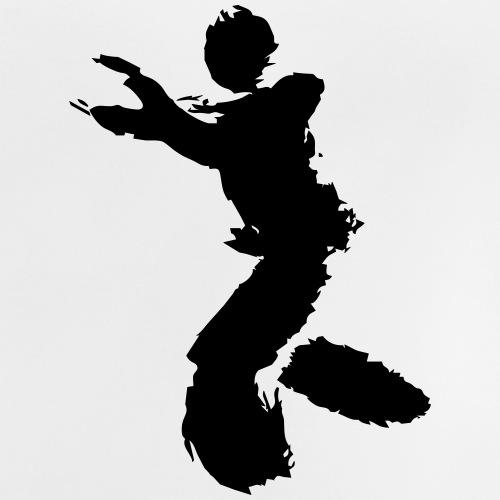 Wing Chun / Kung Fu Tusche Figur VEKTOR - Baby T-Shirt