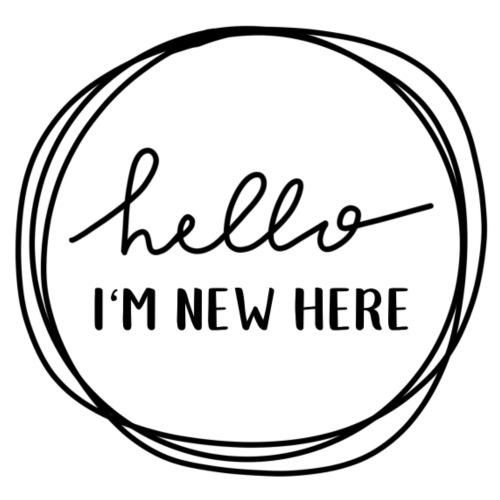 Hello, I'm new here - Baby T-Shirt