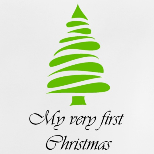 My very first Christmas - Weihnachten - Baby T-Shirt