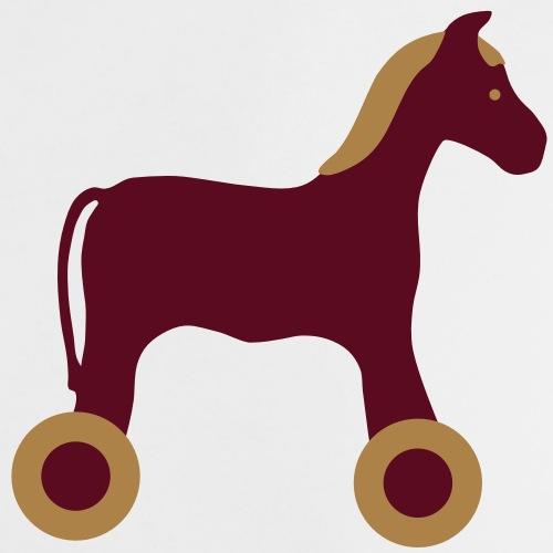 Nachziehtier Pferd Birth Geburt Birthday Baby - Baby T-Shirt