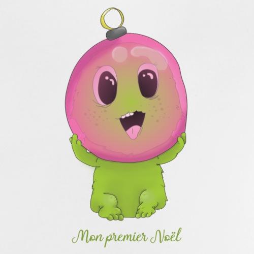 premier noel monstre - T-shirt Bébé
