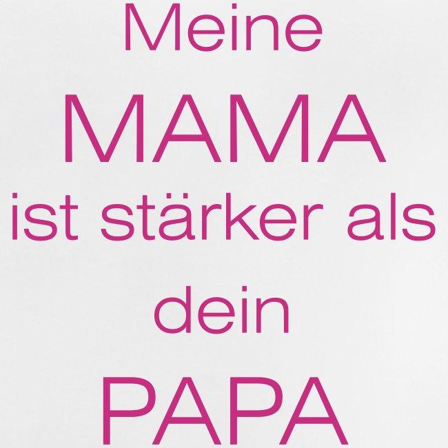 meine mama ist stärker als dein papa // farbe