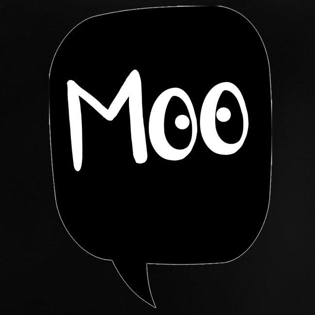bubble moo white design