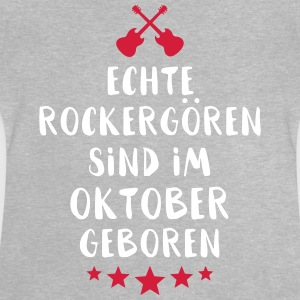 True Rocker brats are born in October - Baby T-Shirt