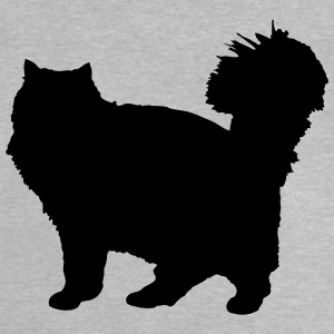 Vector Cat Silhouette - T-shirt Bébé