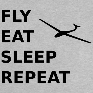 Fly eat sleep repeat - Baby T-Shirt