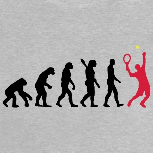 tennis evolutie - Baby T-shirt