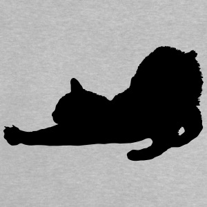 Vector Cat Silhouette - Baby T-shirt