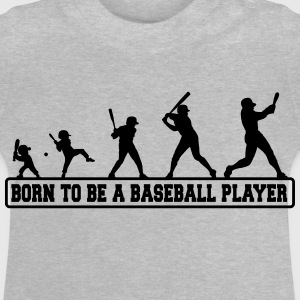 Born to be a baseball player - Baby T-Shirt