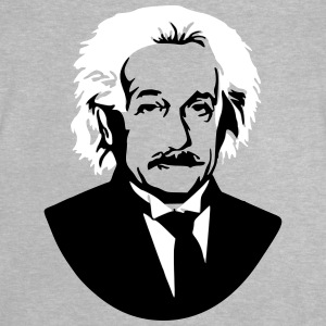 Albert Einstein Genius bust picture graphic - Baby T-Shirt