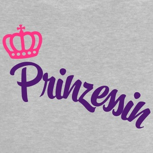 Princess with crown - Baby T-Shirt