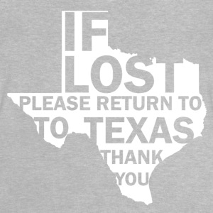 If lost Texas - Baby T-shirt