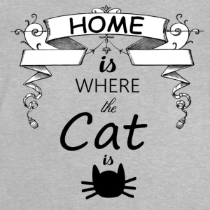 HOME IS WHERE THE CAT IS - Baby T-Shirt