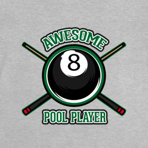 Awesome Pool player - Baby T-Shirt