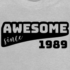 Awesome siden 1989 / Fødselsdag-Shirt - Baby T-shirt