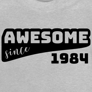 Awesome siden 1984 / Fødselsdag-Shirt - Baby T-shirt