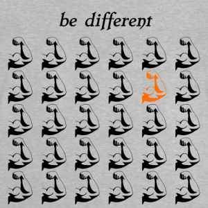 "Fitness Shirt Fitness Accessories ""be different"" - Baby T-Shirt"