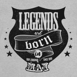 All legends may born birthday gift - Baby T-Shirt