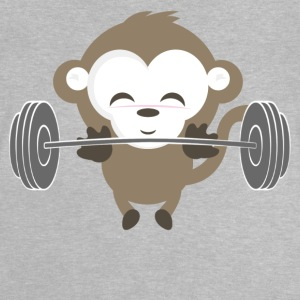 Fitness Monkey nyligen - Baby-T-shirt