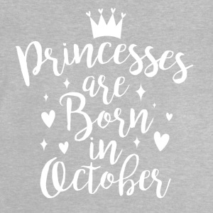 Princesses are born in October - Baby T-Shirt